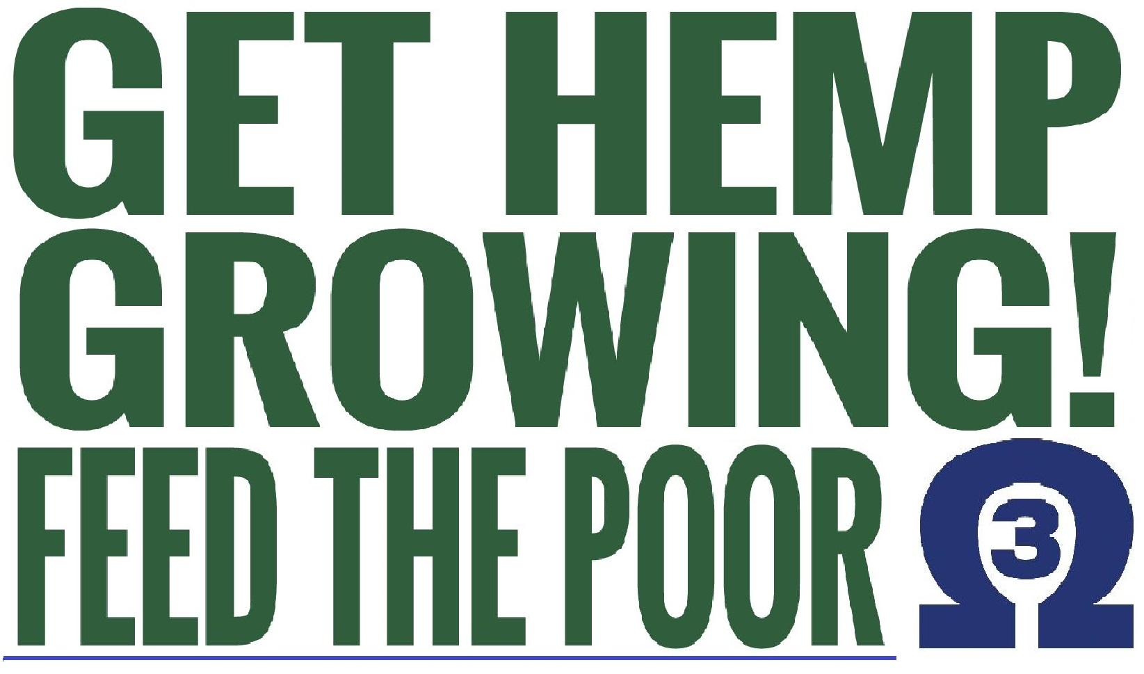 Grow Hemp Feed the poor