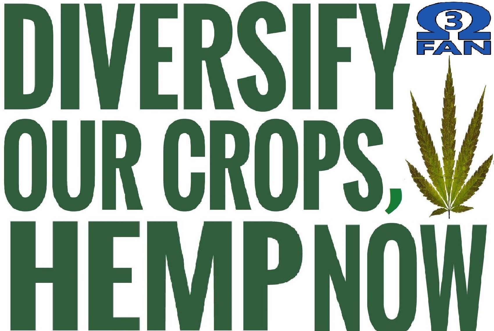 Diversify our crops!