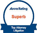 AVVO Superb Top Attorney Litigation