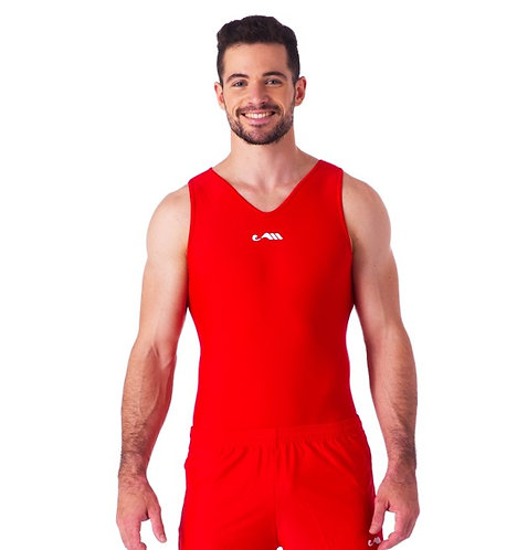 RED COMPETITIVE LEOTARD