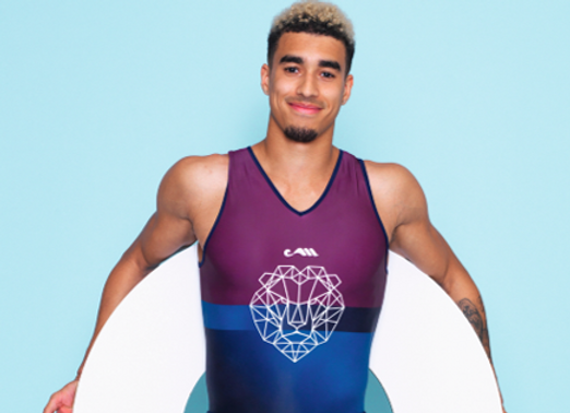 LION COMPETITIVE LEOTARD