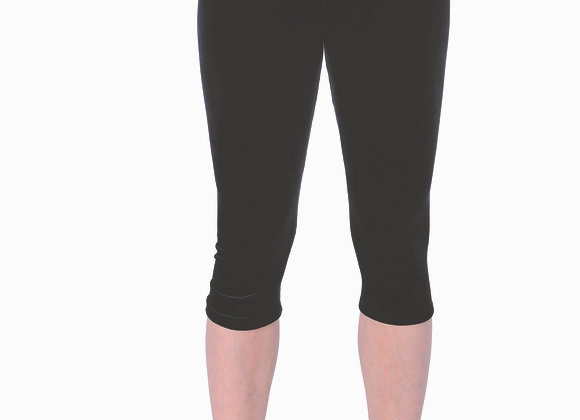 BASIC BLACK 3/4 LEGGING