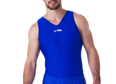 BLUE COMPETITIVE LEOTARD