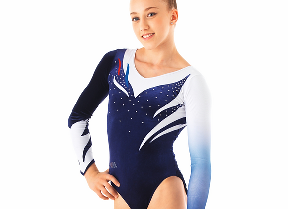 FRANCE COMPETITIVE LEOTARD