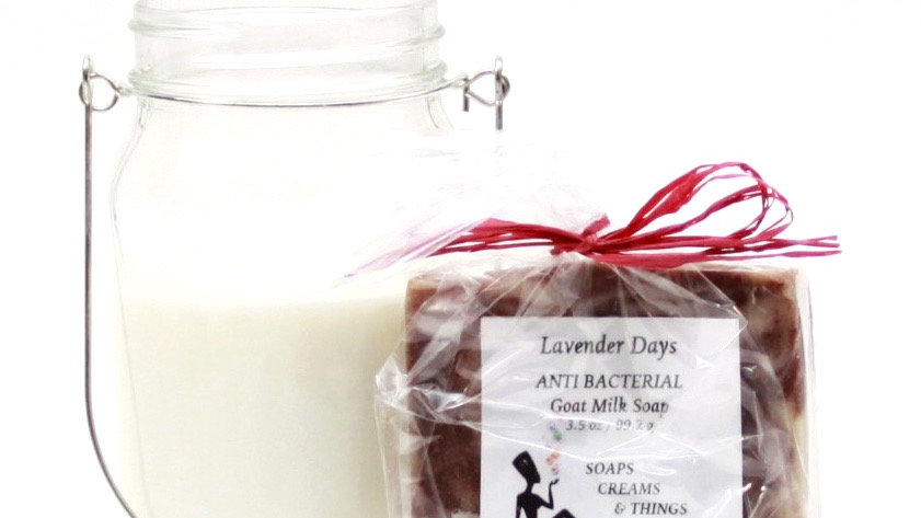Lavender Days- Goat Milk  Antibacterial Soap Softness At Its Best