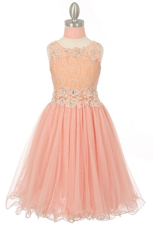 Style#5010, Peach, Size 8