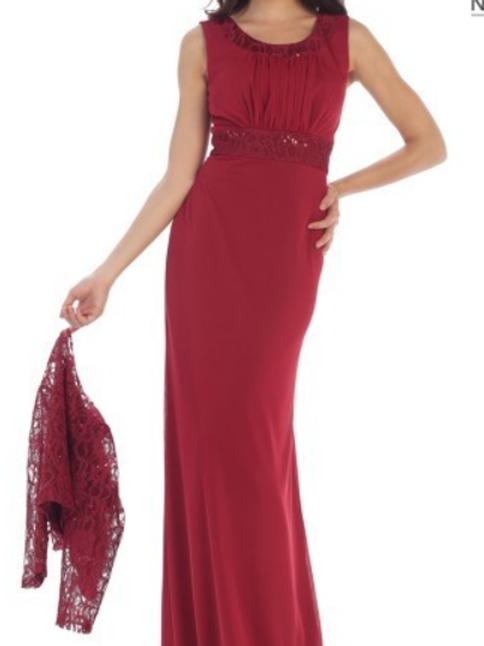 Style# 1450, Burgundy, Size 3XL