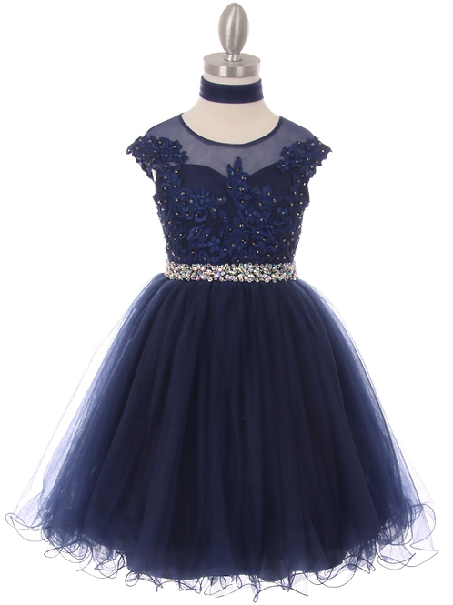 Style # 5018, Navy, Size 10