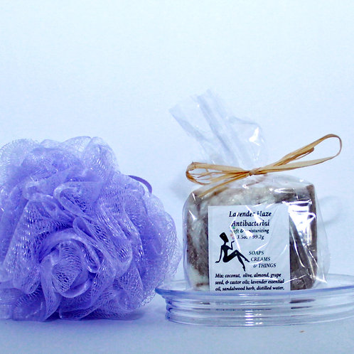 Lavender Haze-Antibacterial Soap that Relieves Stress in Both Men & Women