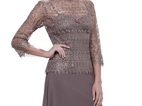 Style#8160-93, Mocha, Size 4XL