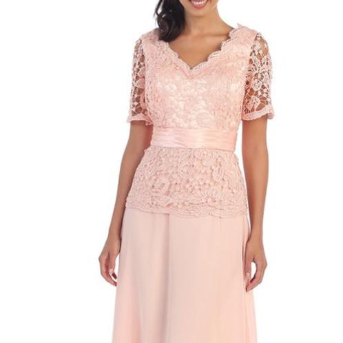 Style#1198, Blush, Size XL