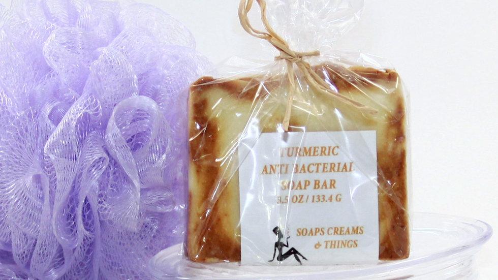 Turmeric Antibacterial  Soap Cleanse & Moisturizes