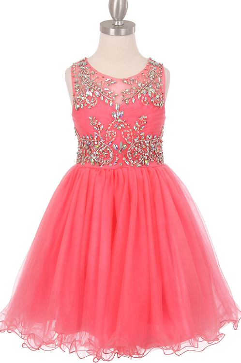 Style#65007, Coral, Size 10