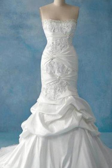 Style # 201 White Size 20W (Alter to Fit 16W-26W)
