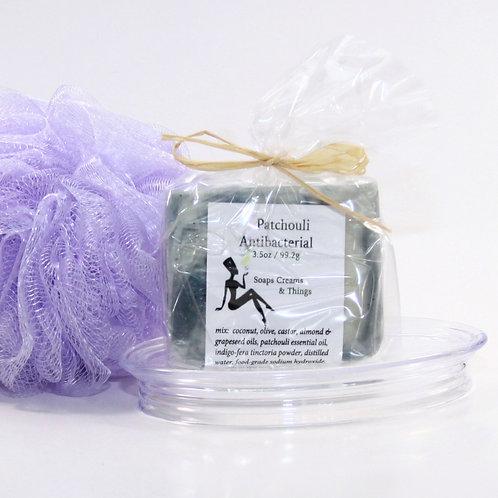Patchouli Antibacterial Soap | A Deodorant Bar That Never Stops