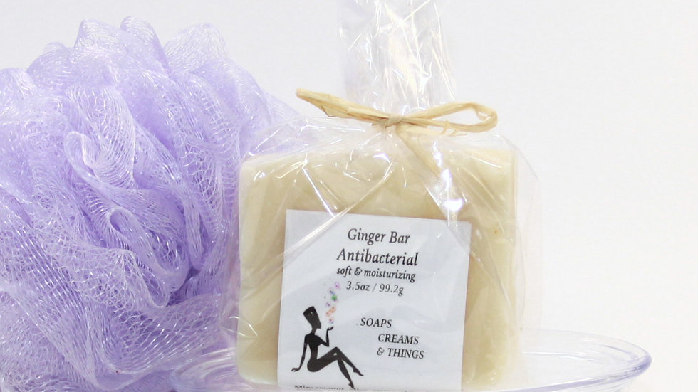 Ginger Antibacterial Soap - The Oil of Empowerment