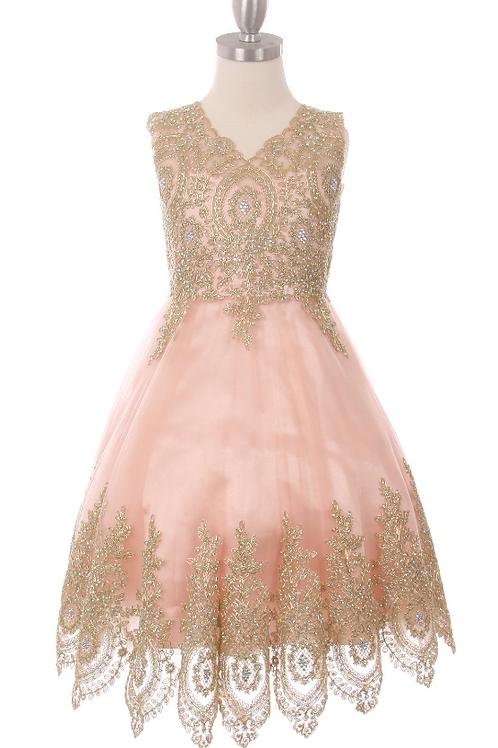Style#5021, Blush, Size 8