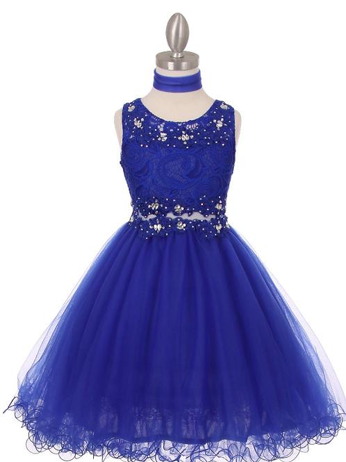 Style#5010, Royal, Size 10