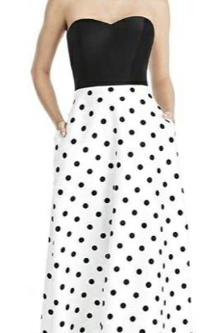 Style # D748CP, Polka Dot, Size 10