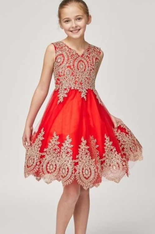 Style#5021, Red, Size 10