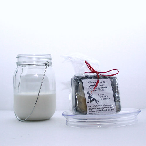 Non-Scented  Goat Milk Antibacterial - Charcoal or Non Charcoal