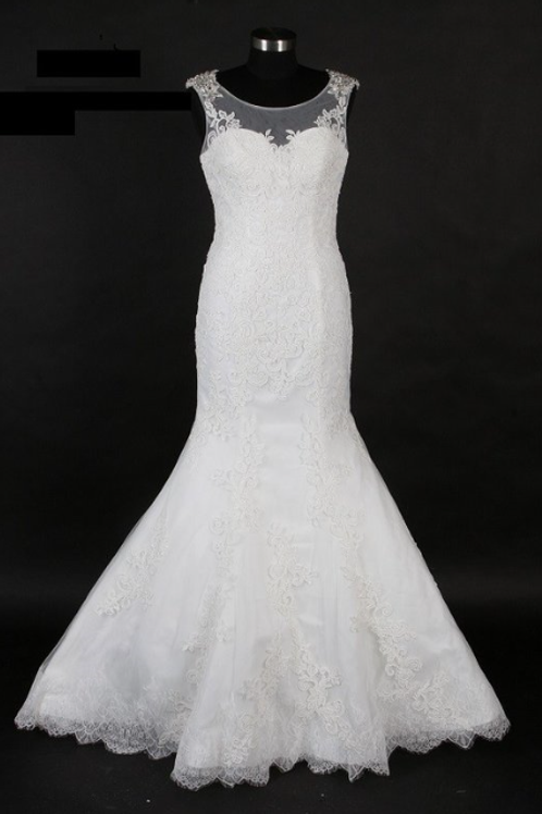 Style # SAV-0373-5 Ivory-Size 12 In Store (Alter to fit 8-14)