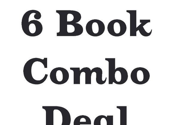 6 Book Signed Paperback Deal