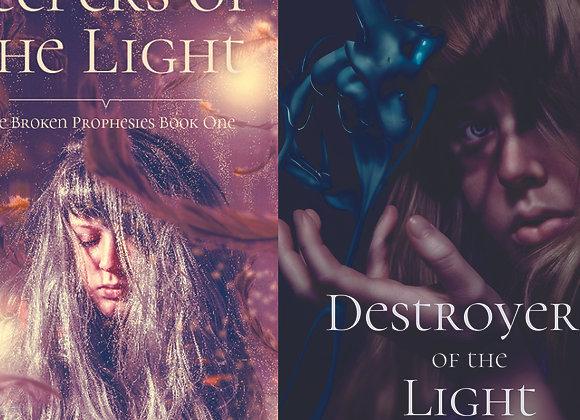 Broken Prophecies Duo Signed Paperbacks