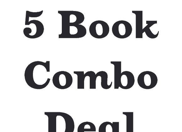 5 Book Signed Paperback Deal