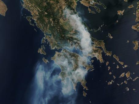 D'importants incendies en Europe et à travers le monde, la nouvelle normalité ?