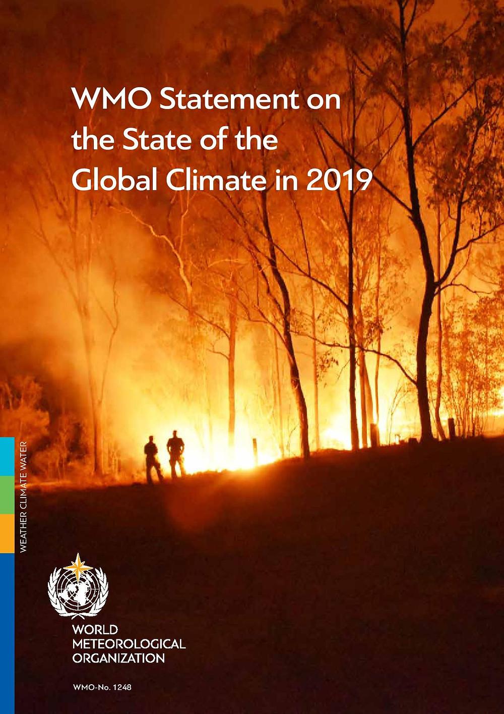 Déclaration sur l'état du climat global en 2019.