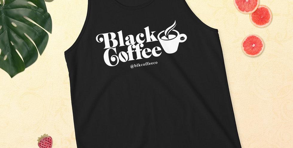 Black Coffee Classic Unisex  Tank Top