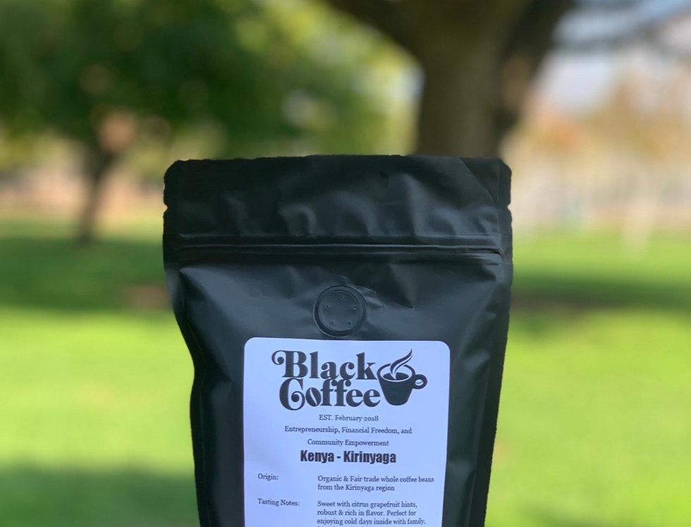 """Kenya - Kirinyaga"" Organic Coffee Beans"