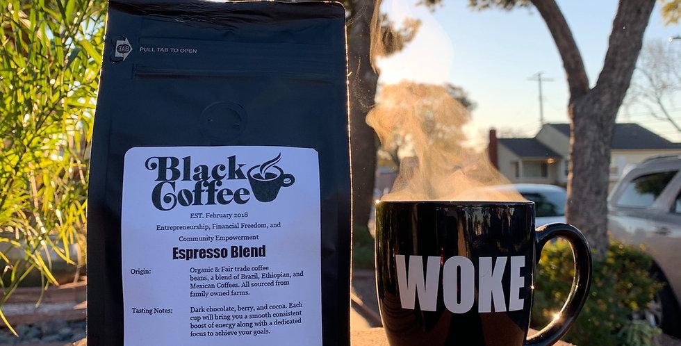 """Espresso Blend"" Organic Coffee Beans"