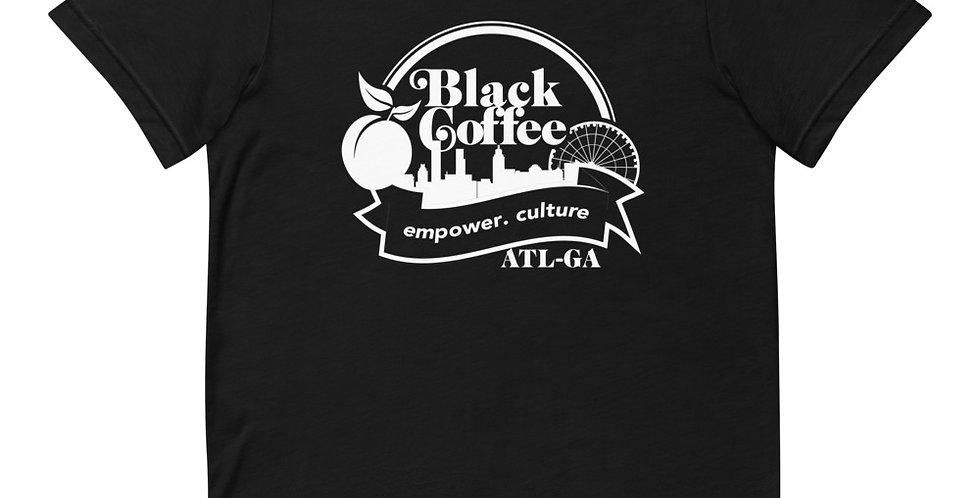 """Black Coffee ATL"" Short-Sleeve Unisex T-Shirt"