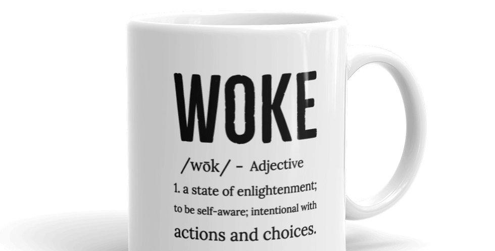"""WOKE"" Definition Mug"