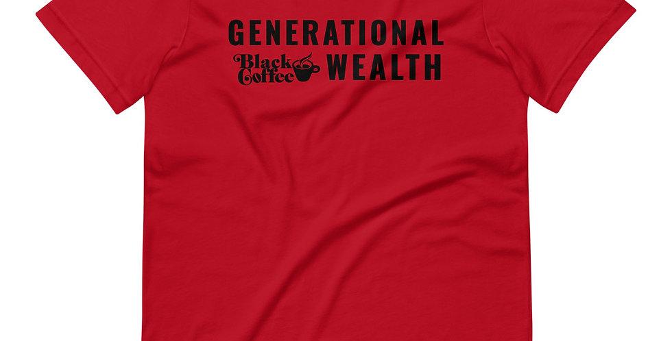 Generational Wealth Short-Sleeve Unisex T-Shirt