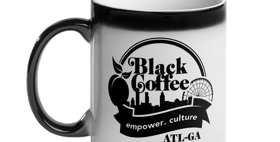 """""""Black Coffee ATL"""" Glossy Magic Mug"""
