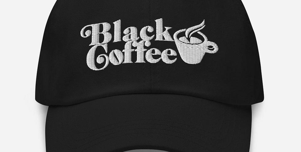 Black Coffee Dad Hat