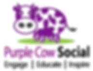 Purple Cow Social Logo