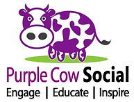 Purple Cow Social Logo