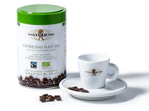 Espresso Natura plechovka