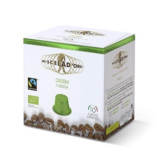Green – kompatibilní s Nespresso kapslemi