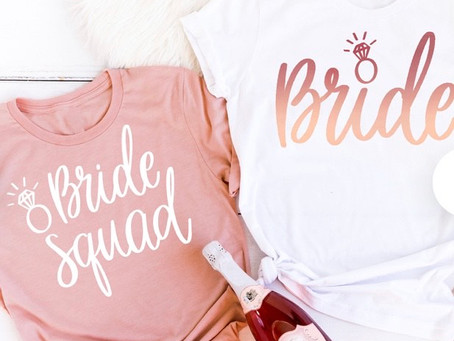9 Cute Bridal Party Shirts for You and Your Bride Tribe