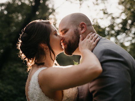 Kelly and Cody's Metallic Themed Summer Warehouse Wedding