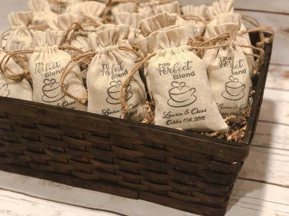 Wedding Coffee Favors