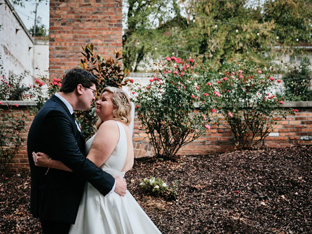 Sarah and Kaleb's Green and Gold Warehouse Wedding