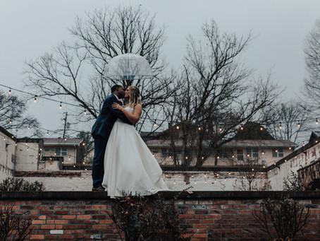 Deese/Brochu Winter Inspired Warehouse Wedding