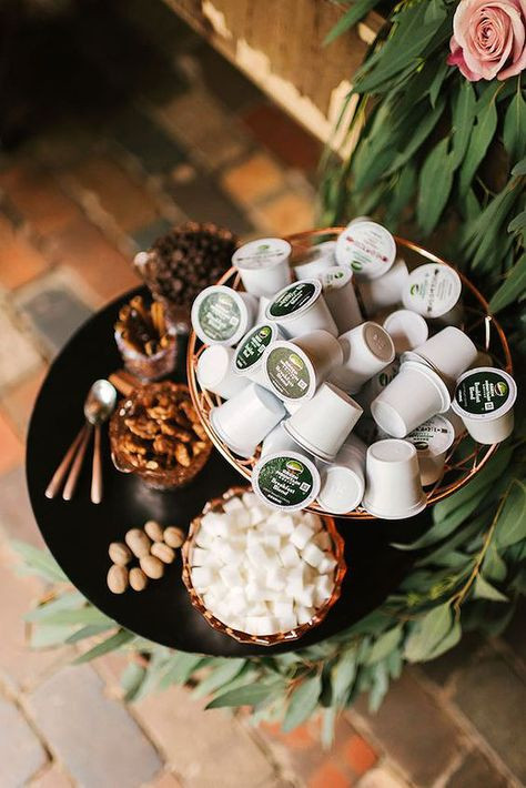 Self-Serve Wedding Coffee Bar