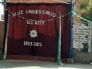 Feliz aniversario U.E. Atiy